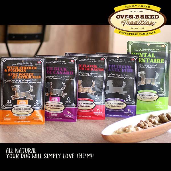 穀物不使用 オメガ3&6含有 おいしくて体にいいおやつ オーブンベークド ホリスティック トリート:グレインフリー チキン&パンプキン 227g