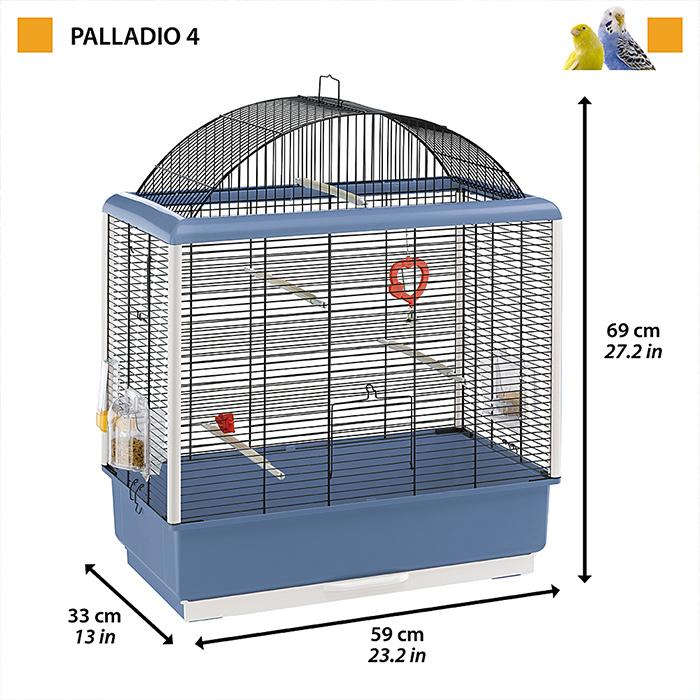 イタリアferplast社  小鳥用鳥かご パラディオ 4 〜Palladio 4〜