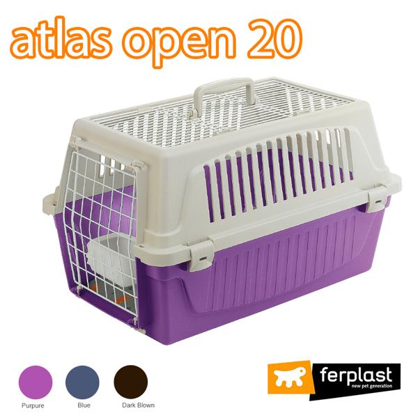 組立発送 イタリアferplast社製 アトラス 20 オープン キャリー  Atlas 犬 猫 小動物 ペット用 通院 外出 おでかけ 旅行
