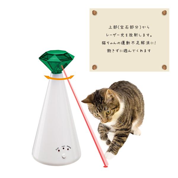 【WEBショップ限定】 イタリアferplast社製 ファントム 猫 TOY ネコ おもちゃ レーザーポインター