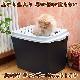 【WEBショップ限定】イタリアferplast社製 JUMPY ジャンピー キャットトイレ 猫 上から出入り