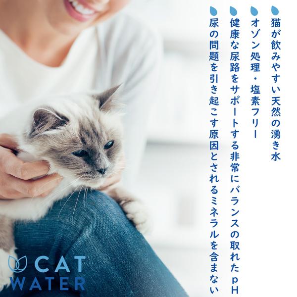 PH バランス キャットウォーター 500ml CAT WATER 猫 水 ペット 天然水 水分補給