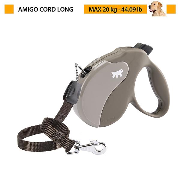 イタリアferplast社製 アミーゴ ロング コード AMIGO LONG CORD 犬 りーど 伸縮 リード 7m さんぽグッズ
