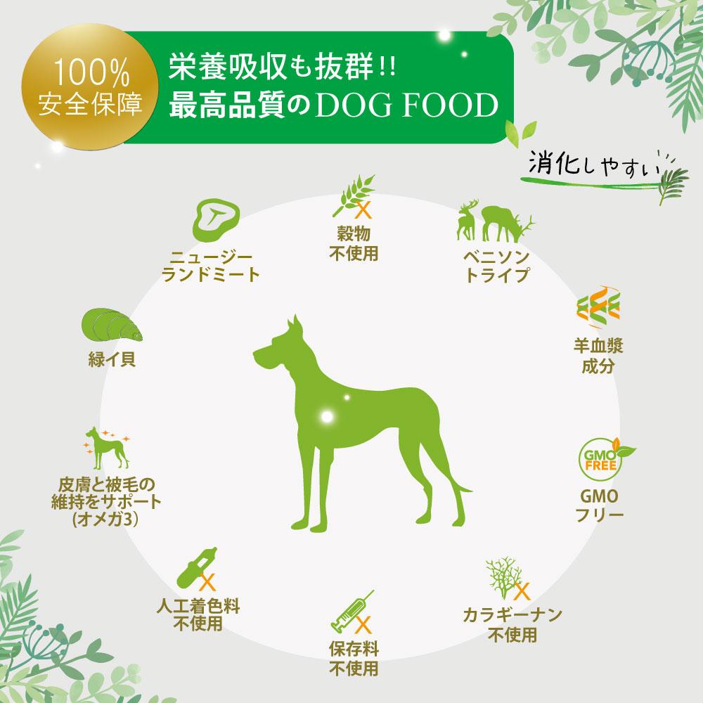 20%割引【まとめ買い24缶×185g】【NEW】成犬用 ドッグフード NUTRIPE PURE ニュートライプ ピュア グリーントライプ 185g