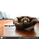 【通販限定】イタリアferplast社製 犬用プラスチックベッド シエスタDX8専用クッションカバー ソファ クッション 8 ソフト〜sofa 8 soft