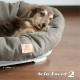 【通販限定】イタリアferplast社製 犬用プラスチックベッド シエスタDX2専用クッションカバー ソファ ツイード 2〜sofa tweed 2