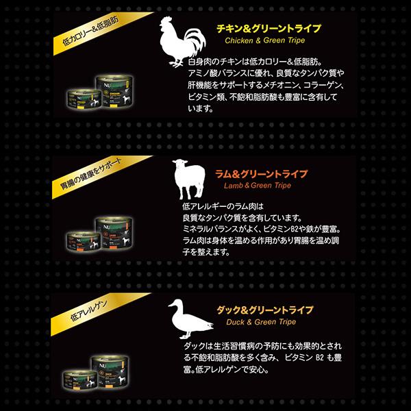 成犬用ニュートライプ ピュア ウナギ&グリーントライプ 95g