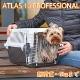 組立発送 イタリアferplast社製 アトラス 10プロフェッショナル キャリー Atlas 耐荷重5kgまで 犬 猫 小動物 ペット用 通院 外出 おでかけ 旅行