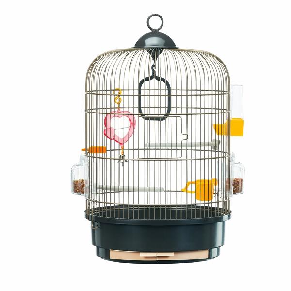 イタリアferplast社製 レジーナ アンティークブラス〜Regina AntiqueBrass〜 鳥かご