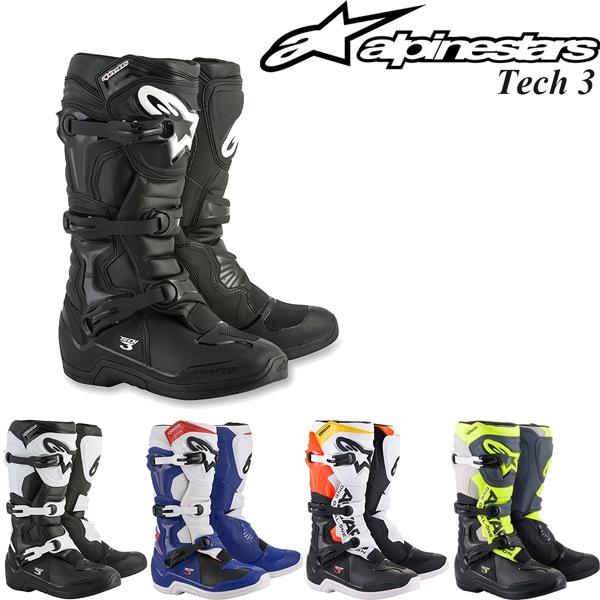 Alpinestars オフロードブーツ Tech 3 18-21年 現行モデル