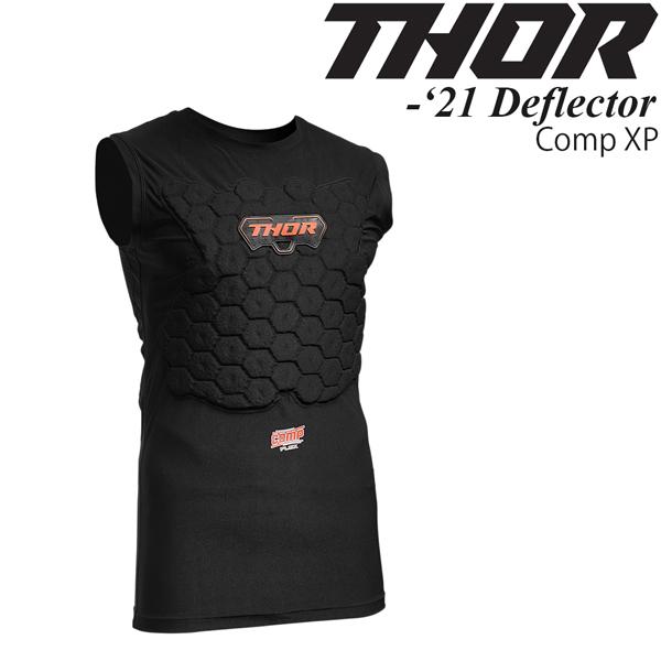 Thor ディフレクター 袖無し Comp XP Flex Deflector 2020-21年 最新モデル