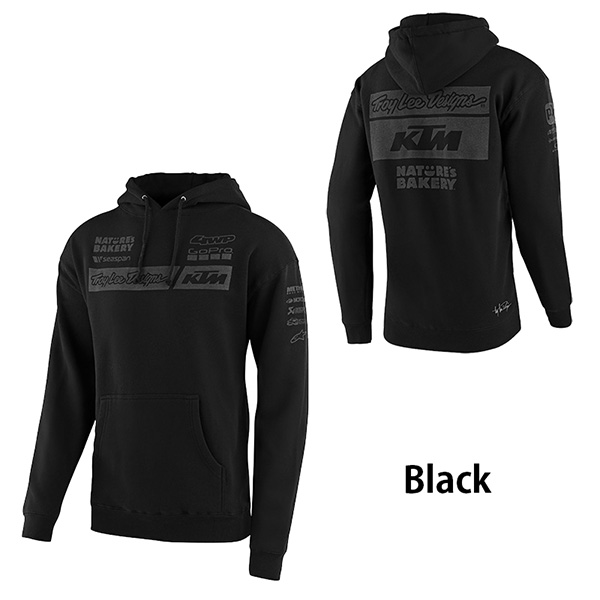 Troy Lee パーカー スウェット Pullover Hoodie 2020年 最新モデル KTM Team