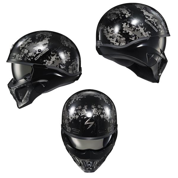Scorpion EXO ヘルメット Covert X 2021年 最新モデル Digicamo