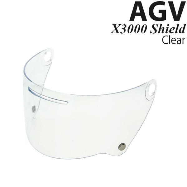 AGV X3000 ヘルメット用 シールド X3000 Shield Clear