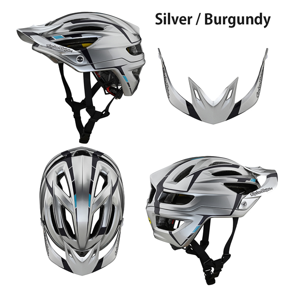 Troy Lee ヘルメット 自転車用 A2 Mips 2021年 最新モデル Sliver
