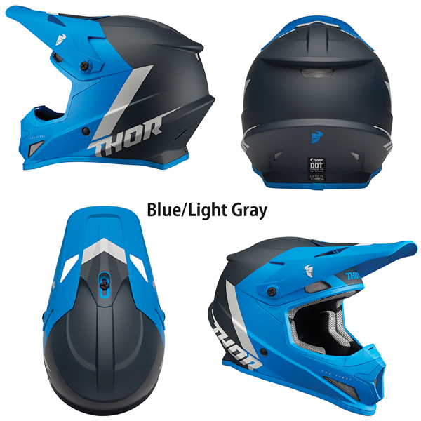 Thor オフロードヘルメット Sector 2022年 最新モデル Chev