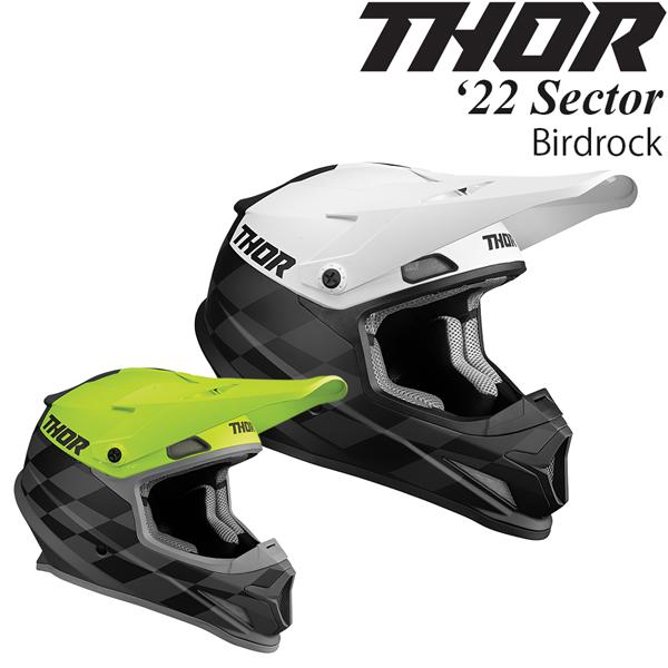 Thor オフロードヘルメット Sector 2022年 最新モデル Birdrock