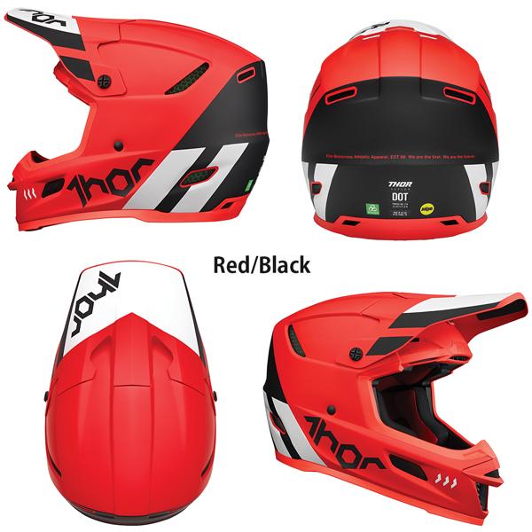 Thor オフロードヘルメット Reflex Mips 2022年 最新モデル Cube