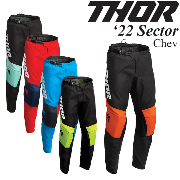Thor オフロードパンツ Sector 2022年 最新モデル Chev