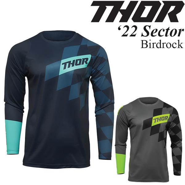 Thor オフロードジャージ Sector 2022年 最新モデル Birdrock