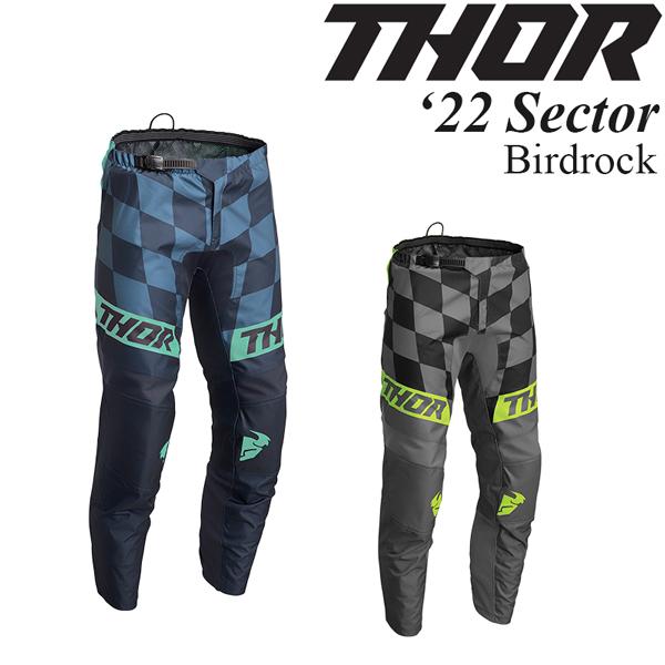 Thor オフロードパンツ Sector 2022年 最新モデル Birdrock