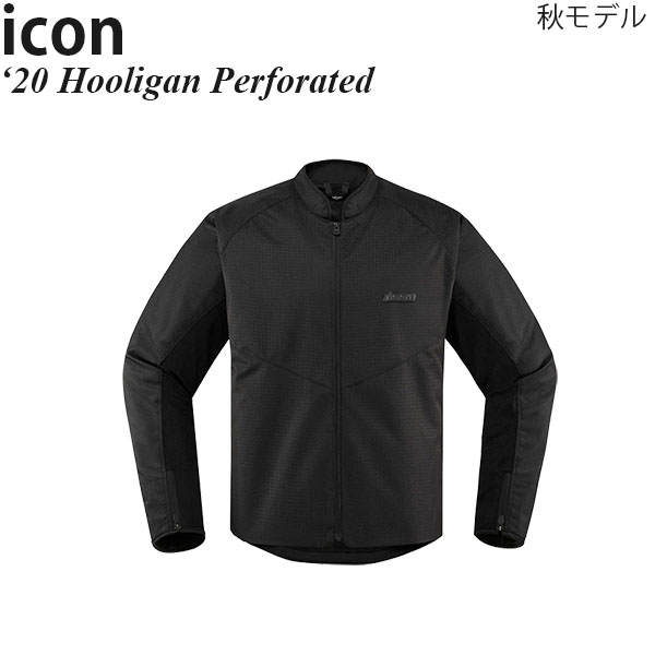 Icon ジャケット Hooligan Perforated 2020年 秋モデル