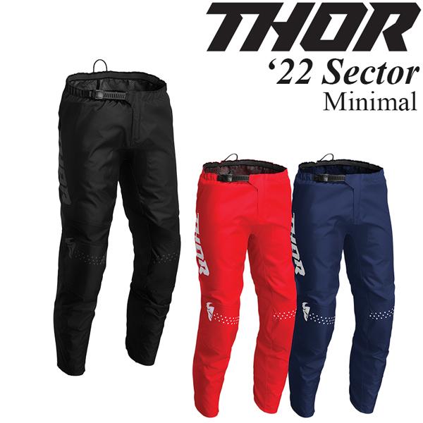 Thor オフロードパンツ Sector 2022年 最新モデル Minimal