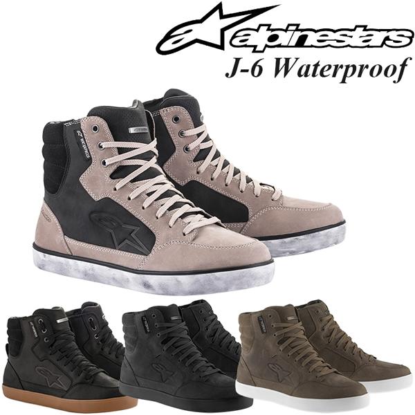 Alpinestars 防水 バイクシューズ J-6 Waterproof Shoes