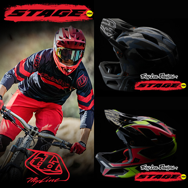 Troy Lee ヘルメット 自転車用 Stage 2020年 春モデル Stealth
