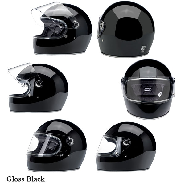 Biltwell ヘルメット Gringo S 2019-21年 モデル グロス/メタリック(艶あり)カラー