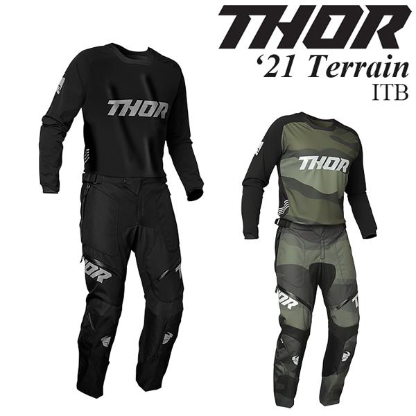 Thor 上下セット Terrain 2021年 最新モデル ITB