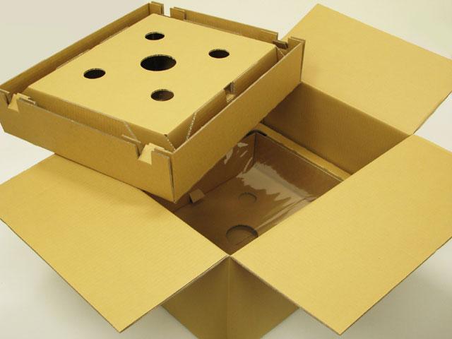 精密機器用ダンボール(大型プリンター用)【L】【送料無料/代引不可】(10組/セット)