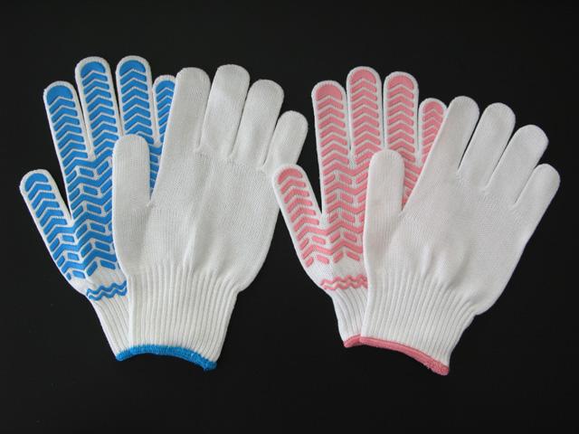 天然ゴムすべり止め付作業用手袋 ゴムライナー AG331 男性用
