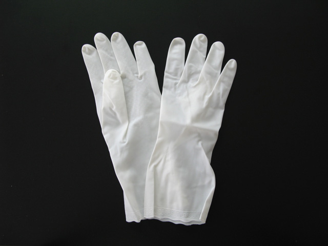清掃用ビニール手袋 ビルパール薄手NP No.015 ホワイト 全3サイズ