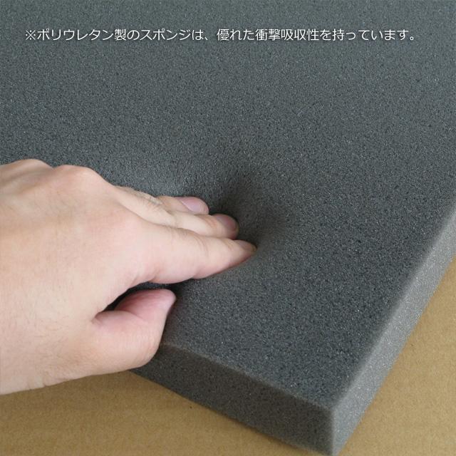 ウレタンスポンジ緩衝材 30×470×620