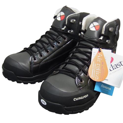 冬用 ハイキング ブーツ スノーキャラバン0023001 ウインターブーツ ブラック 23.0/24.0cm