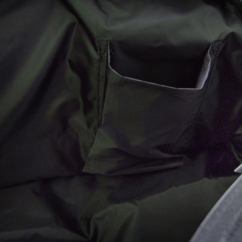 ルコック ボストンバック&巾着 ブラック 27×47×18cm
