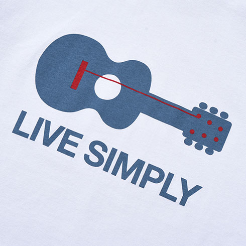 patagonia<br>Ms Live Simply Guitar Responsibili-Tee  【38503】<br>パタゴニア メンズ リブ シンプリー ギター レスポンシビリティー