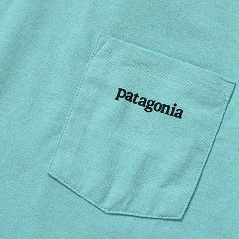 patagonia<br>Ms Line Logo Ridge Pocket Responsibili-Tee  【38511】<br>パタゴニア メンズ ライン ロゴ リッジ ポケット レスポンシビリティー