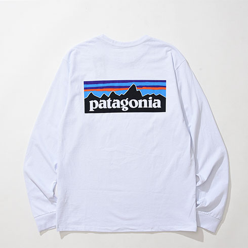 patagonia<br>Ms L/S P-6 Logo Responsibili-Tee  【38518】<br>パタゴニア メンズ ロングスリーブ P-6ロゴ レスポンシビリティー