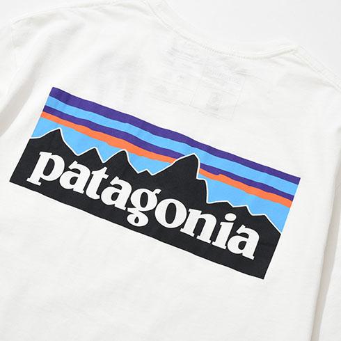patagonia<br>Ms P-6 Logo Organic T-Shirt  【38535】<br>パタゴニア メンズ P-6 ロゴ オーガニック Tシャツ