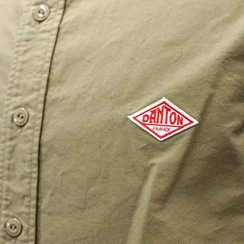 DANTON<br>【ダントン】<br>オックスフォード バンドカラー長袖シャツ Men's<BR>【JD-3607 YOX/JD-3607 CDX】