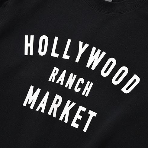 NEWERA ・ HOLLYWOOD RANCH MARKET<br>NEW ERA HRM ウィンドウサイン スウェットクルーネック  【700085354】<br>ハリウッド ランチ マーケット ニューエラ