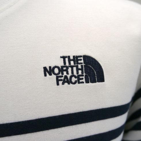 THE NORTH FACE<br>【ザ・ノース・フェイス】<br>S/S Panel Border Tee/ショートスリーブパネルボーダーティー Men's