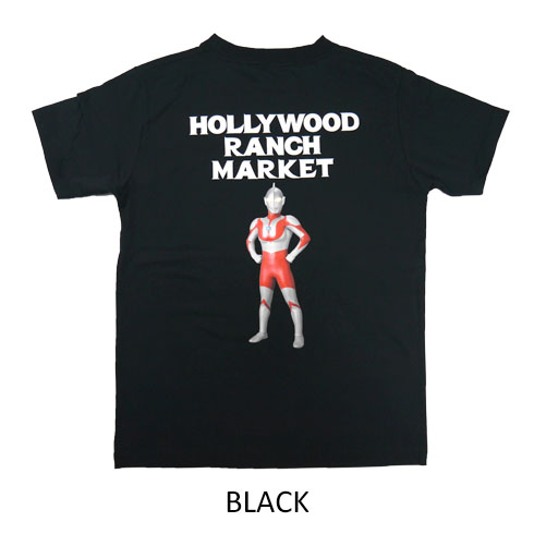 HOLLYWOOD RANCH MARKET<br>ウルトラマン HRM Tシャツ  【700085336】<br>ハリウッド ランチ マーケット