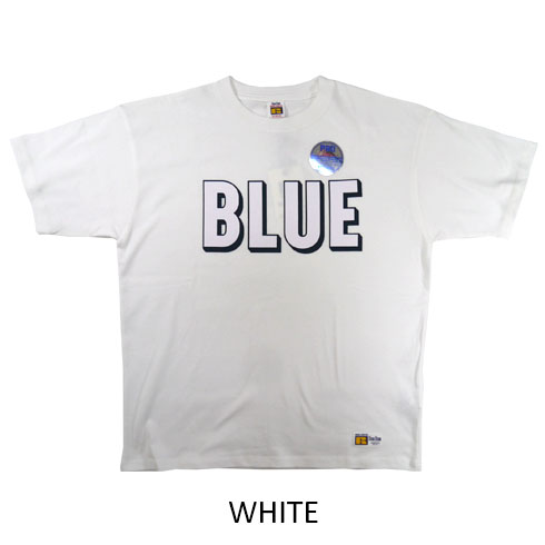 BLUE BLUE・RUSSELL<br>3D ロゴ プリント Tシャツ  【700085363】<br>ブルーブルー