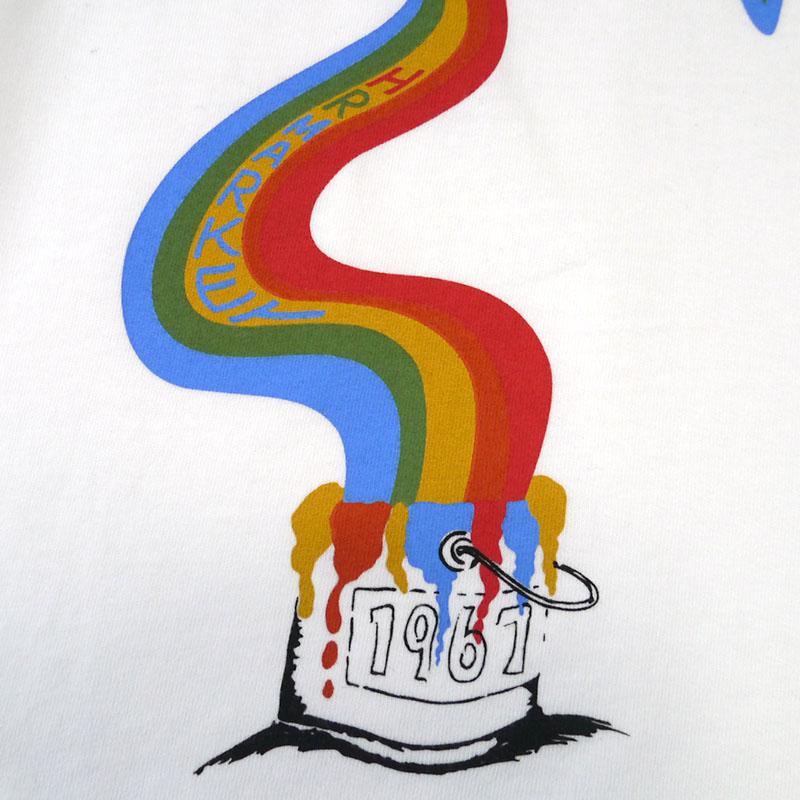 HOLLYWOOD RANCH MARKET<br>レインボーペインティング Tシャツ  【700086447】<br>ハリウッド ランチ マーケット