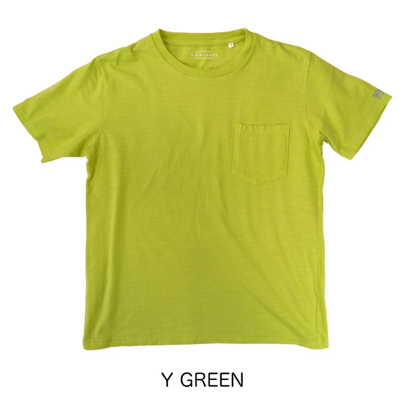 HOLLYWOOD RANCH MARKET<br>GSY ポケットクルーネック ショートスリーブTシャツ  【700055603】<br>ハリウッド ランチ マーケット