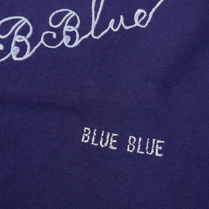 BLUE BLUE<br>B BLUE エンブロイダリー Tシャツ  【700085439】<br>ブルーブルー