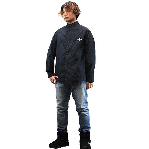 DANTON<br>【ダントン】<br>ダウンプルーフ スタンドカラー ジャケット Men's<BR>【JD-8952 DUK】